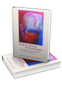 Childhood Illnesses and Immunizations book cover image for web
